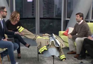 Buscan mejorar los trajes de los bomberos gracias a la nanotecnología