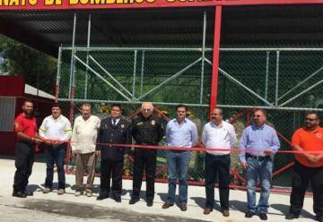 Inauguran quinta estación de Bomberos en Guadalupe
