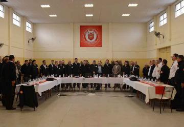 Reunión de Capacitación en Bomberos Voluntarios Almafuerte