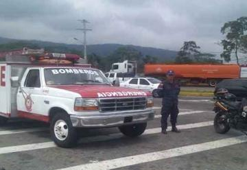 Ambulancia de Bomberos de Colón Paralizada por falta de combustible