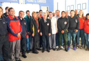 La Federación de Bomberos del Chaco se reunió en San Bernardo