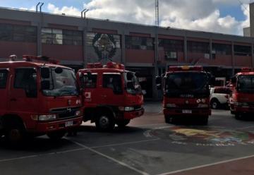 Japón donó cuatro camiones contra incendio