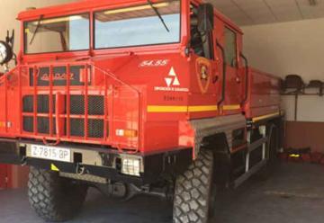 Bomberos de Sástago cuenta con un nuevo vehículo