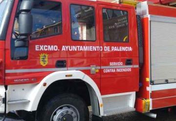 Multado un camión de bomberos de Palencia por circular sin ITV