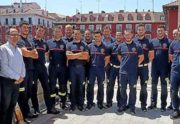 Valladolid suma trece nuevos bomberos al parque