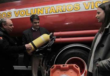 Equipamiento para los Bomberos de Vicente López