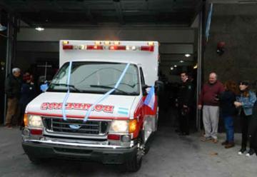Bomberos de Sarandí presentaron una nueva unidad móvil de rescate