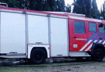 Nueva autobomba de Bomberos Voluntarios de Villa Dolores