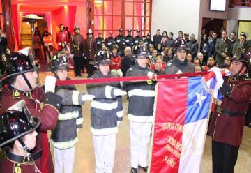 Quinta Compañía de Bomberos de Rancagua celebró su cincuentenario
