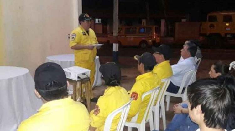 Bomberos voluntarios cumplen 10 años en Santa Rosa