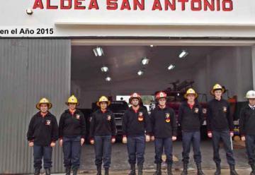 Se Inauguro el Cuartel de Bomberos Voluntarios de Aldea San Antonio