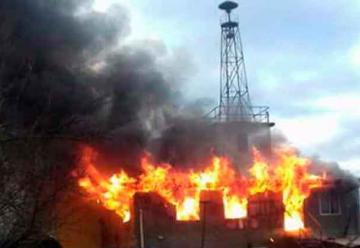 Incendio en Segunda Compañía de Bomberos de Río Bueno