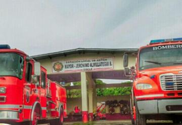 Cuartel de bomberos de Antón en total abandono