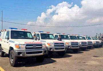Bomberos de Maracaibo recibe ambulancias y uniformes