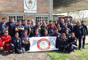 Realizan Curso de Socorrismo nivel II en Tucumán