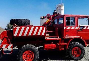 Nueva Autobomba 4X4 para bomberos de la Villa de Merlo