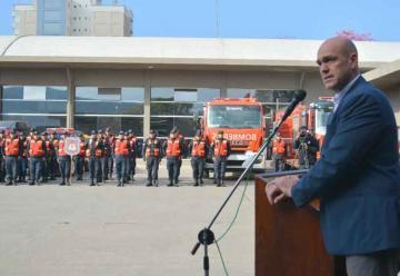 Bomberos de la policia de Jujuy conmemoró su 96° aniversario