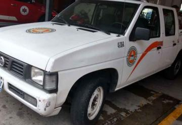Roban camioneta propiedad de bomberos de Guadalajara