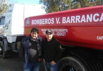 Bomberos Voluntarios de Barrancas sumaron una nueva unidad
