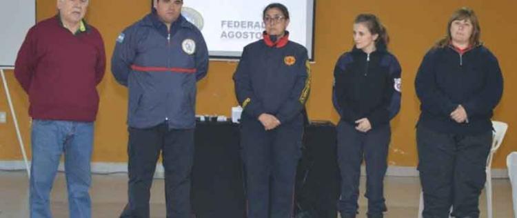 Realizaron curso de Psicología de la Emergencia en Federal
