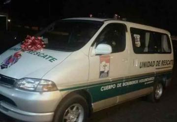 Bomberos de Naranjito recibió su primer móvil de rescate