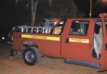 Bomberos presentaron vehículo de ataque forestal