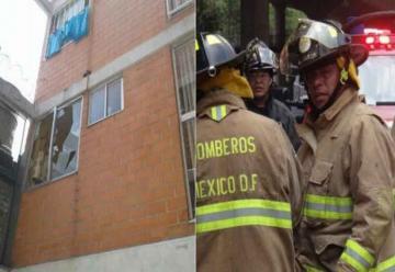 Muere bombero de la Ciudad de Mexico al caer de un tercer piso