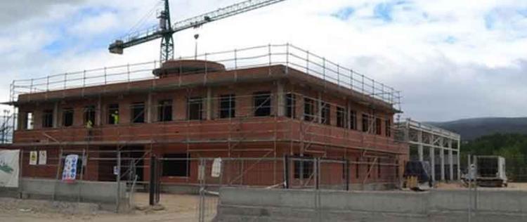 Avanza la construcción del centro de coordinación de los Bomberos