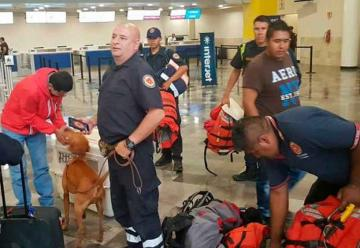 Bomberos rumbo a Texas para brindar ayuda por el paso del huracánHarvey