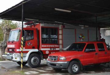 Es crítica la situación de los bomberos en la zona Este de Mendoza