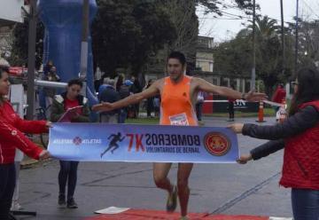 Se corrió la maratón de los Bomberos de Bernal