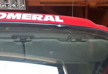 Atacan cuartel de bomberos en la comuna de Romeral