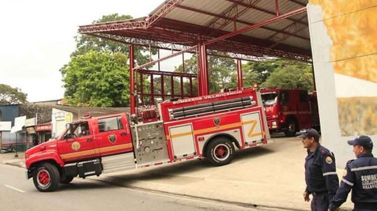 Nuevo hangar estrena el Cuerpo de Bomberos de Villavicencio