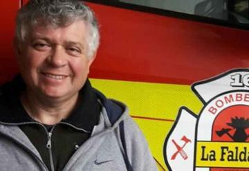 Bombero postergó una operación para combatir los incendios de las sierras