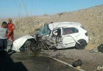 Tres bomberos de Arequipa quedaron heridos en un accidente de tránsito
