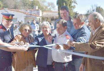 Bomberos Voluntarios de San Miguel inauguraron su cuartel
