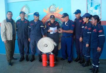 Bomberos de Upata cumplieron 46 años de vida