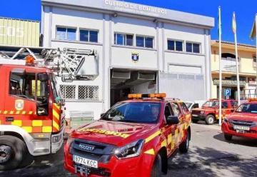 Nuevos coches para bomberos Benalmádena