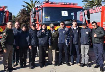 Voluntarios de O'Higgins renuevan su parque automotriz