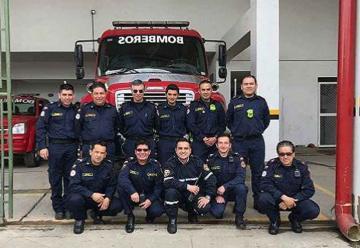 Todos los bomberos serán beneficiados con nuevos uniformes