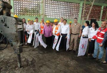 Arranca construcción de nuevo cuartel de Bomberos de Tampico
