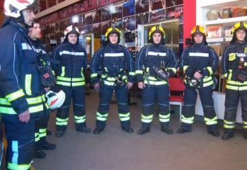 Bomberos emprenden viaje a Chile para competir el domingo