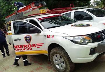Nuevo vehículo para Bomberos del municipio de Sitionuevo