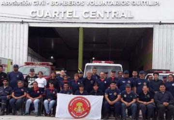 Bomberos voluntarios se capacitaron en Socorrismo Nivel I