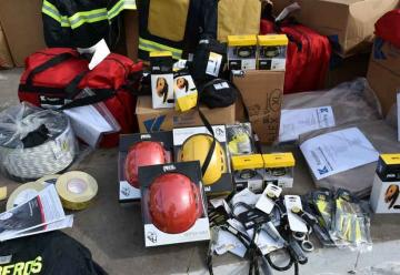 Modernos equipos para bomberos de Rafaela