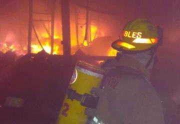 Muere en incendio bombero de Ciudad Guadalupe