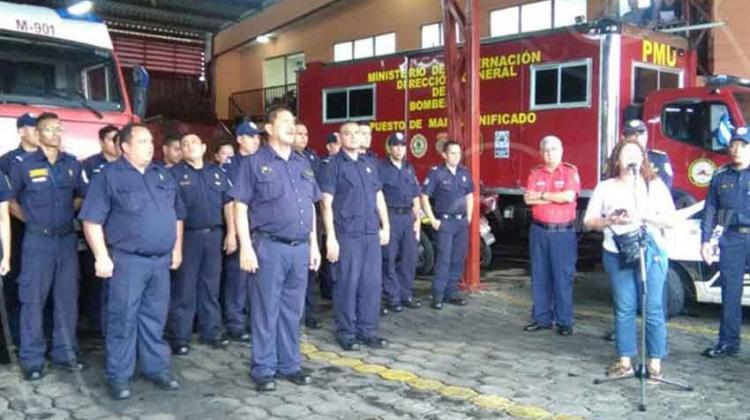 Bomberos inauguran cuatro estaciones remozadas