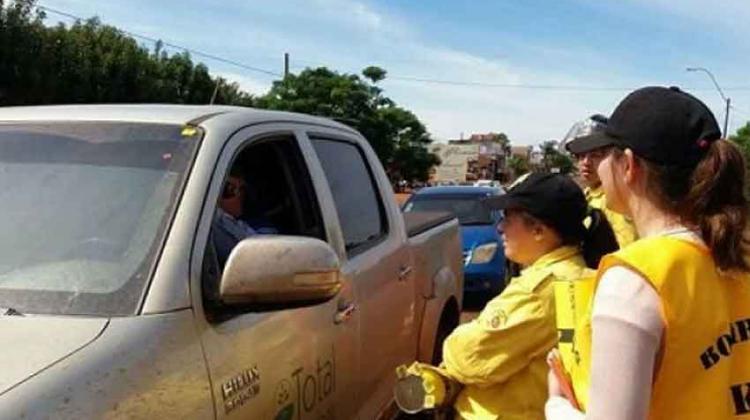 Bomberos Amarillos realizan su colecta anual