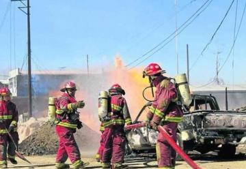 Advierten carencias en compañía de bomberos de Huaraz