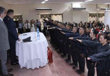 Prestan juramento bomberos judiciales